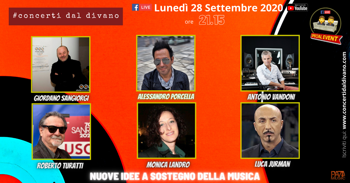 The second season of #concertidaldivano