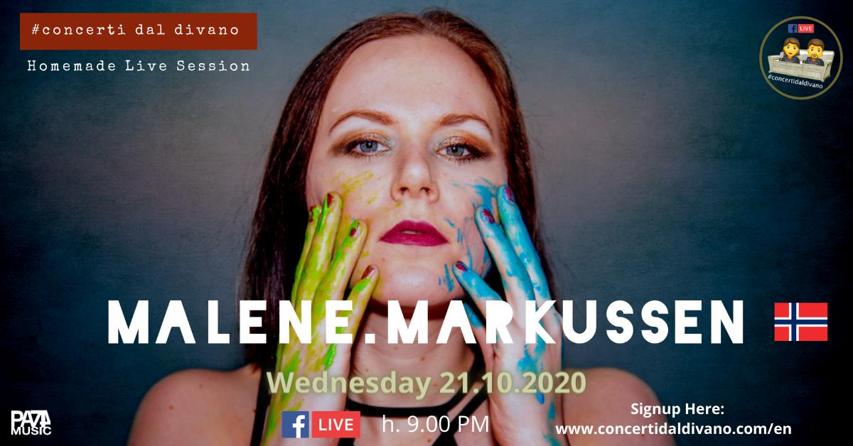 Malene Markussen Live #concertidaldivano 21.10.2020